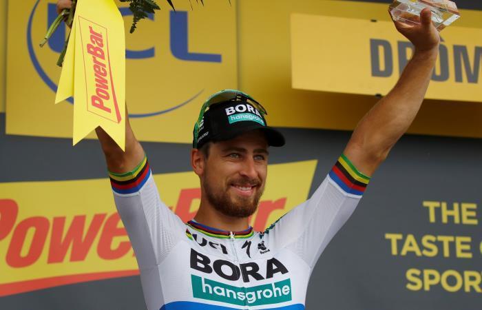 """Sagan: """"Me quedé a la par de Kristoff. Estoy muy contento de haberle ganado'"""