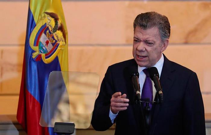 Santos le recomienda a Duque y al nuevo Congreso cuidar la paz