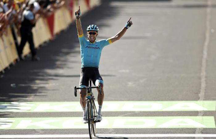 Omar Fraile ganó la etapa 14 del Tour