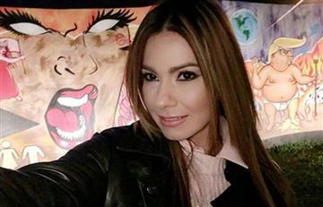 Esperanza Gómez también apoyó a Mockus mostrando su cola
