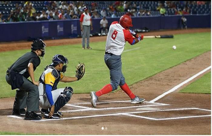 Juegos Centroamericanos: Colombia venció a México 9-1 en béisbol