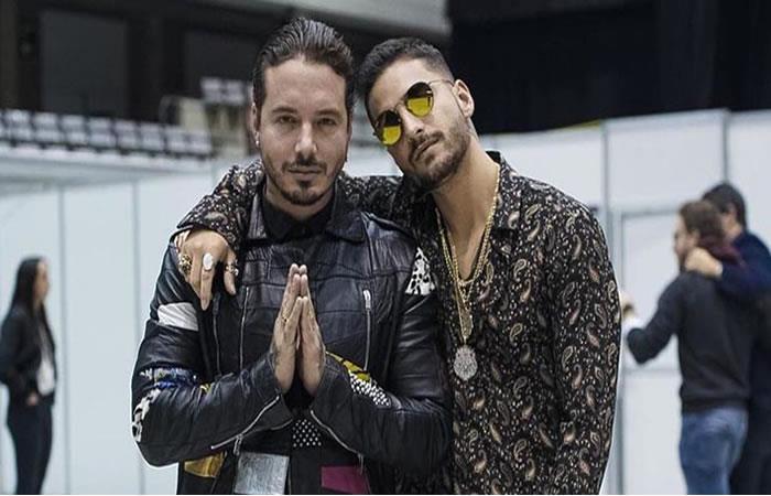 Maluma y J Balvin, los colombianos que brillaron en los Premios Juventud 2018