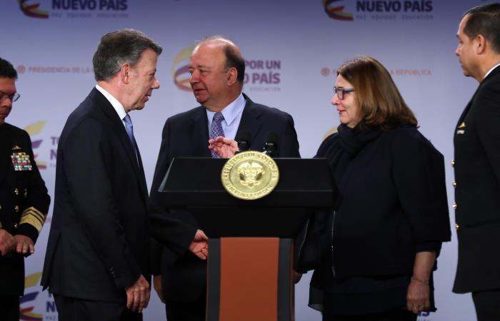 Juan Manuel Santos anunció la suspensión del proceso de rescate del galeón español San José. Foto: EFE