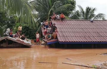 Laos: cientos de desaparecidos y varios muertos tras ruptura de una represa