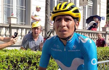 """Nairo Quintana no se rinde y afirma: """"la esperanza está en la etapa de mañana"""""""