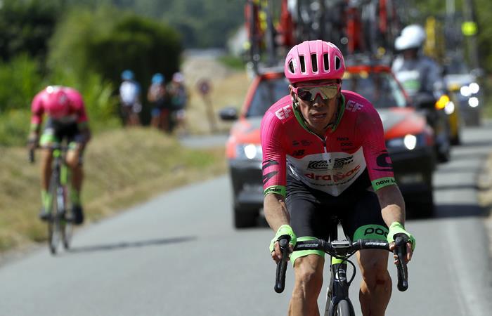 Rigoberto Urán, Fernando Gaviria y otros 27 ciclistas han abandonado el Tour de Francia