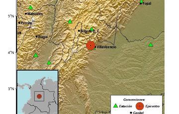 Temblor en el oriente colombiano produce pánico en Villavicencio