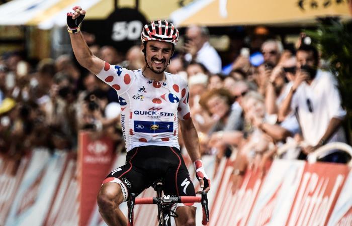 Tour de Francia: Julian Alaphilippe gana una etapa llena de accidentes