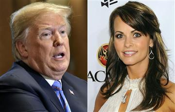 Grabación en la que Trump busca tapar relación con modelo Playboy