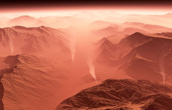 Se encontró un depósito de agua subterráneo en Marte. Foto: Shutterstock