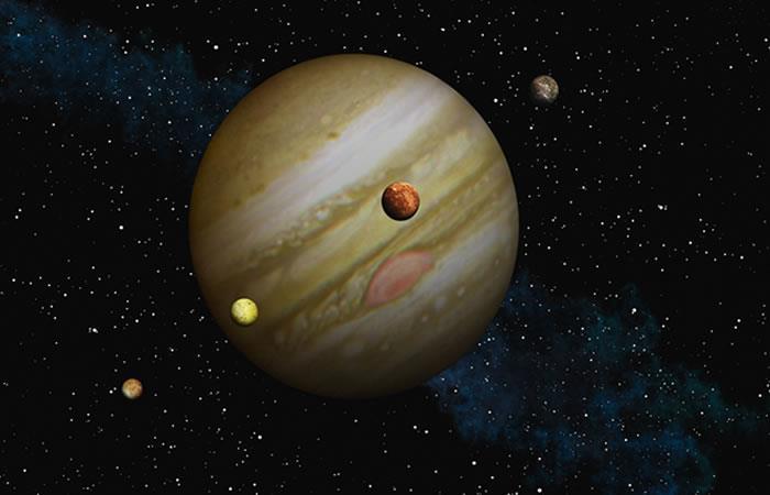 Fantástica imagen de las nubes de Júpiter. Foto: Shutterstock