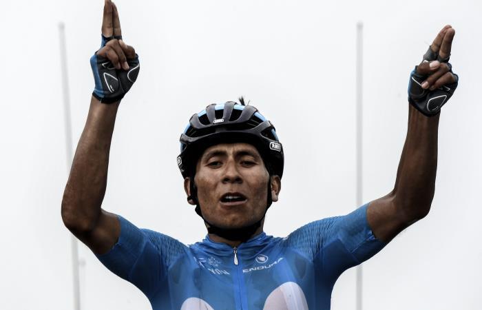 Tour de Francia: Nairo Quintana vuela y gana la etapa 17