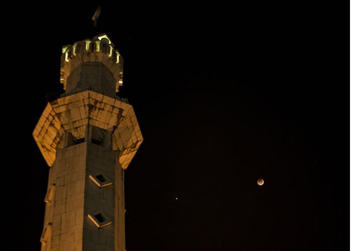 Eclipse Lunar: Las primeras imágenes de la Luna de Sangre