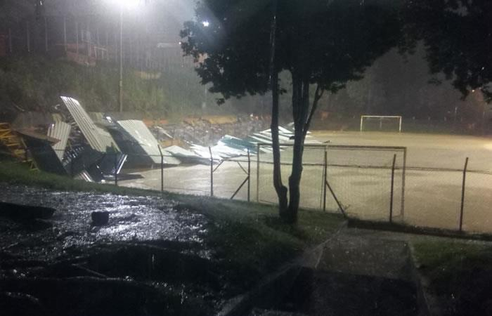 Fuertes lluvias causan emergencia en San Gil