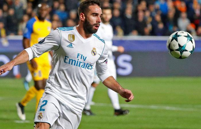 Real Madrid: Dani Carvajal es motivo de burlas entre sus compañeros