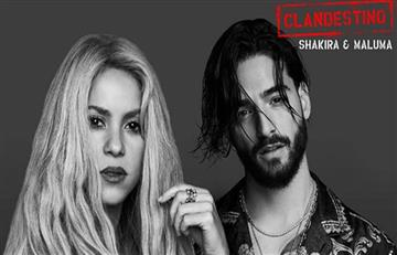 Shakira y Maluma estrenan mundialmente video de 'Clandestino'