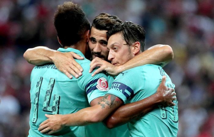 Arsenal goleó 5-1 al Paris Saint Germain