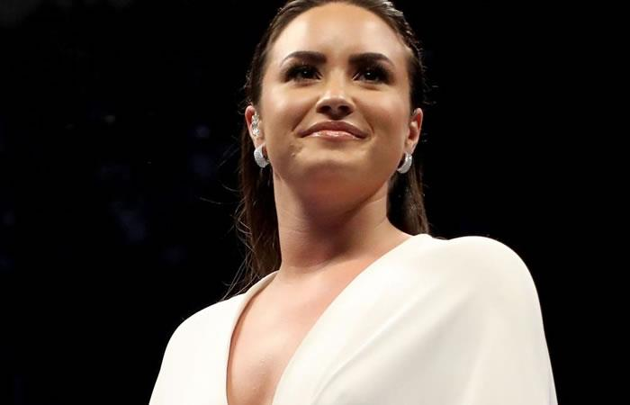 Demi Lovato. Foto: AFP