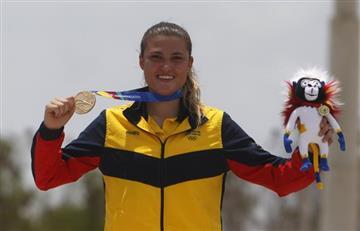 Juegos Centroamericanos: Oro para Colombia en BMX con Gabriela Bollé