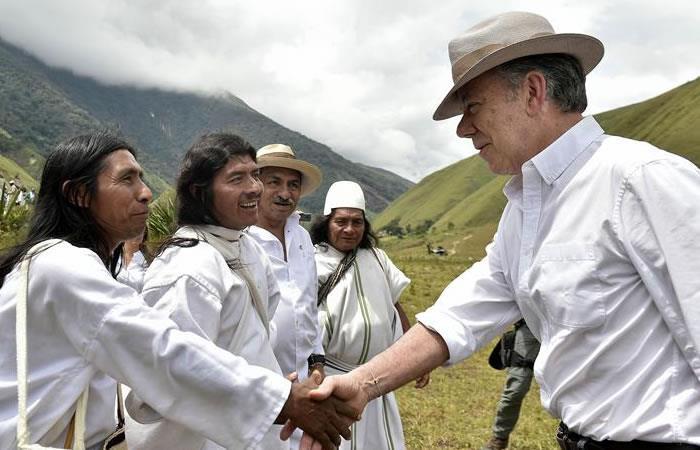 Santos sanciona leyes para la protección de páramos