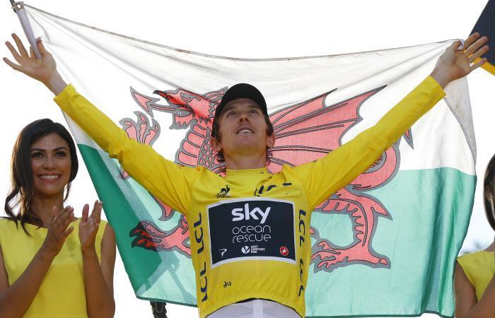 ¡Geraint Thomas campeón del Tour de Francia!