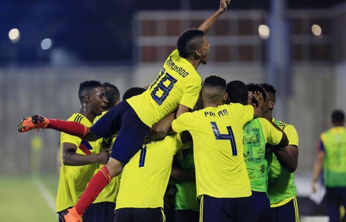 Colombia venció a Haití y está en la final: Foto: EFE.