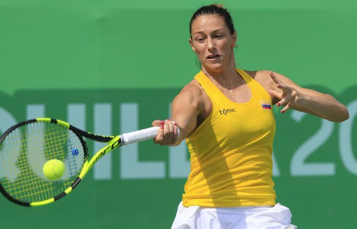 Juegos Centroamericanos: Colombia va por el oro en tenis femenino