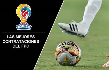 Estos son los mejores fichajes del fútbol colombiano en este semestre