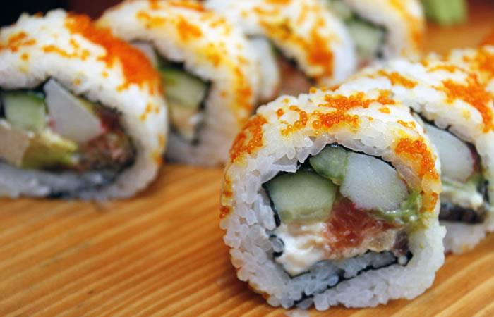 Los chilenos prefieren ordenar sushi más que pizza