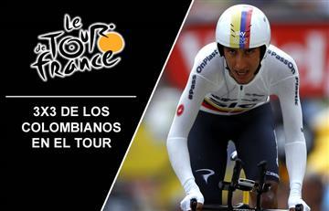 Tour de Francia: 3x3 de los ciclistas colombianos
