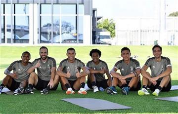 Cristiano Ronaldo ya entrena junto a Juan Guillermo Cuadrado