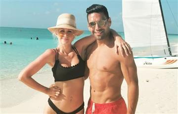 Esposa de Falcao responde a las críticas por sus senos