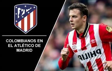 Santiago Arias, el sexto colombiano en jugar con el Atlético de Madrid