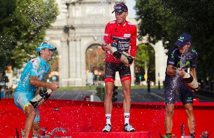 Chris Horner, ganador de la Vuelta a España en 2013, estará en la Vuelta a Colombia 2018. Foto: AFP