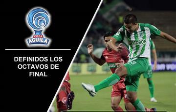 Copa Águila: Quedaron definidos los octavos de final