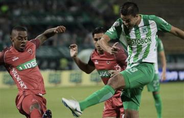 Fútbol colombiano: Nacional no pudo con Patriotas en el Atanasio