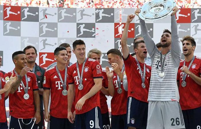 James Rodríguez vendría de gira a Colombia con Bayern Munich