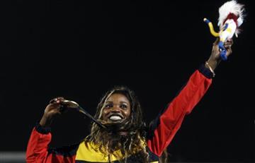 Juegos Centroamericanos: Oro y récord para Caterine Ibargüen