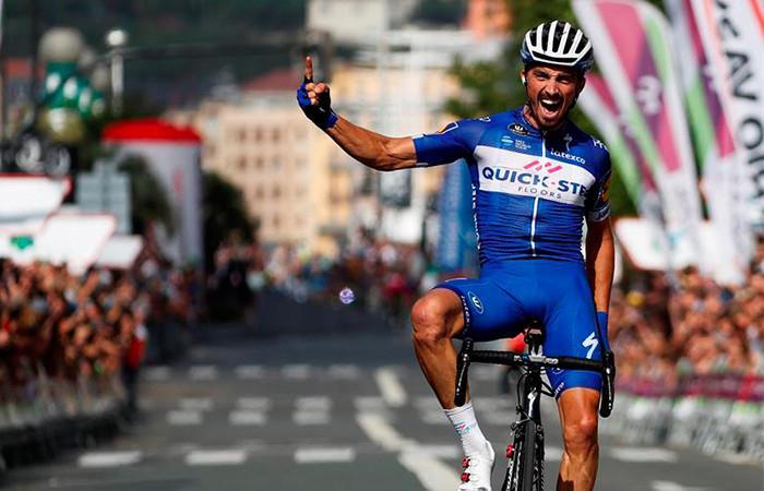 El francés Alaphilippe ganó la Clásica de San Sebastián