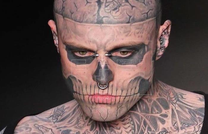 ¿Quién era el modelo y artista Zombie Boy?