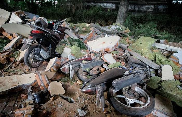 El terremoto afectó dos islas. Foto: EFE