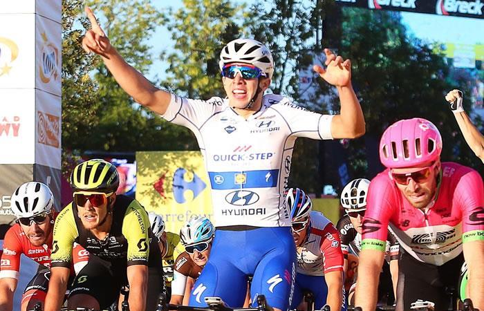 Álvaro Hodeg ahora es líder de la Vuelta a Polonia