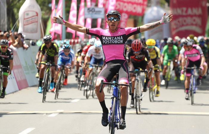 Vuelta a Colombia: Sebastián Molano se lleva la primera etapa