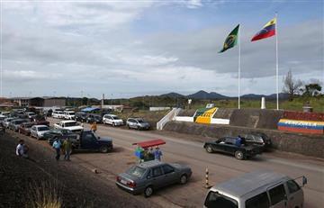 Brasil suspende entrada por tierra a venezolanos