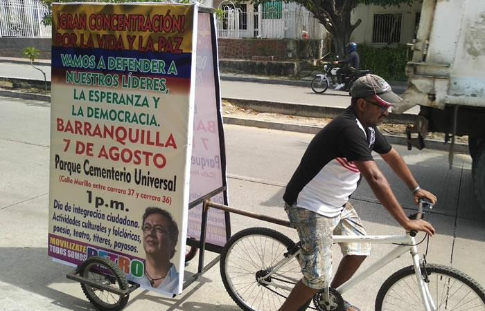 Horarios de las movilizaciones de la Colombia Humana del 7 de agosto