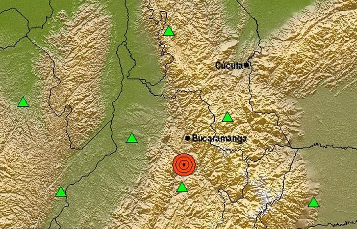 Temblor de 5.8 se siente en Colombia