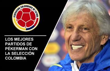 José Pékerman: Los mejores seis partidos con la selección Colombia