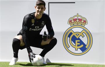 """Courtois: """"Es un sueño cumplido llegar al Real Madrid"""""""