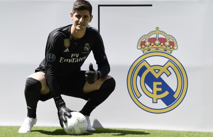 Thibaut Courtois es nuevo arquero de Real Madrid. Foto: AFP