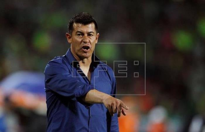 Almirón fue suspendido dos semanas. Foto: EFE
